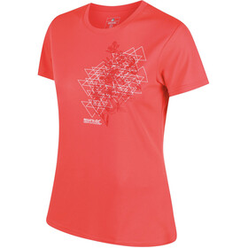 Regatta Fingal III - T-shirt manches courtes Femme - orange